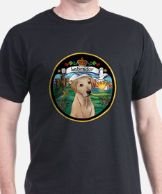 J-ORN-Coat-Arms-Yellow Lab T-Shirt