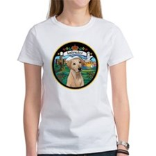 J-ORN-Coat-Arms-Yellow Lab Tee