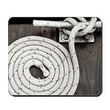 boat knot Mousepad