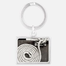 boat knot Landscape Keychain