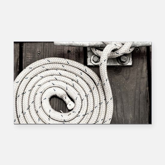 boat knot Rectangle Car Magnet