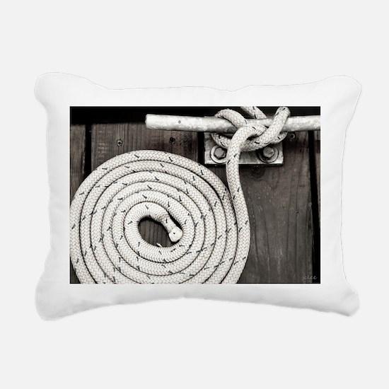 boat knot Rectangular Canvas Pillow