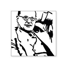 "Bonhoeffer Square Sticker 3"" x 3"""