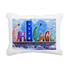 I heart Chicago Rectangular Canvas Pillow