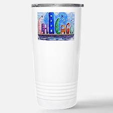 I heart Chicago Travel Mug