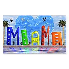 Miami Decal