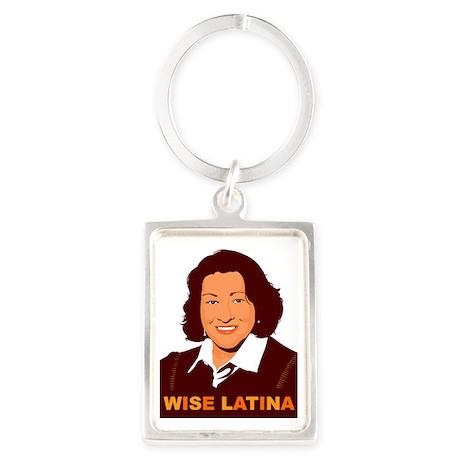 Sotomayor Portrait Keychain