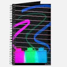 three magic markers Journal