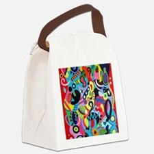 redbicyclette Canvas Lunch Bag
