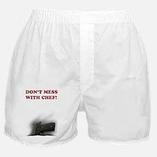 DontFuckWithChef-P229SiG-Sauer Boxer Shorts