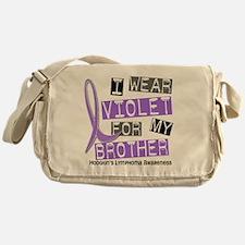 D I Wear Violet Brother 37 Hodgkins  Messenger Bag