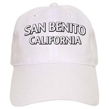 San Benito CA Baseball Cap