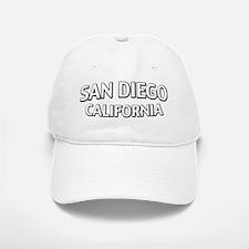 San Diego CA Baseball Baseball Cap