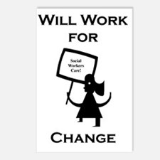 Working for Change Postcards (Package of 8)