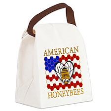 American Honeybees Canvas Lunch Bag