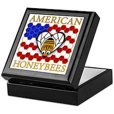American Honeybees Keepsake Box