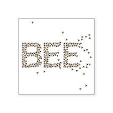 "BEES Square Sticker 3"" x 3"""