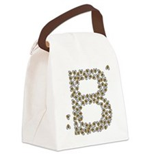 B (made of bees) Canvas Lunch Bag