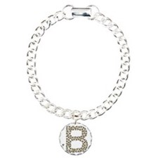 B (made of bees) Charm Bracelet, One Charm