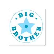 "bigbrother2 Square Sticker 3"" x 3"""