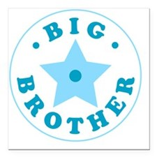 "bigbrother2 Square Car Magnet 3"" x 3"""