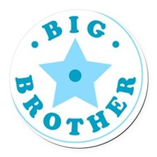 bigbrother2 Round Car Magnet