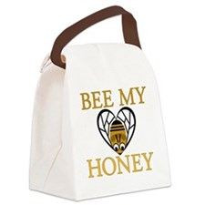 Bee My Honey Canvas Lunch Bag