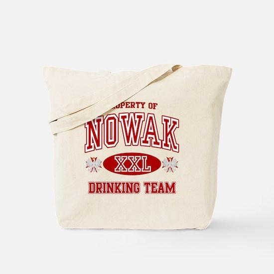 Nowak Polish Drinking Team Tote Bag