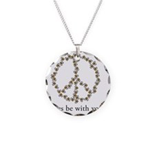 Bees be with you (Peace) Necklace