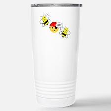 bee arr bee (hi-res) Stainless Steel Travel Mug