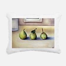 pears14x10_print Rectangular Canvas Pillow