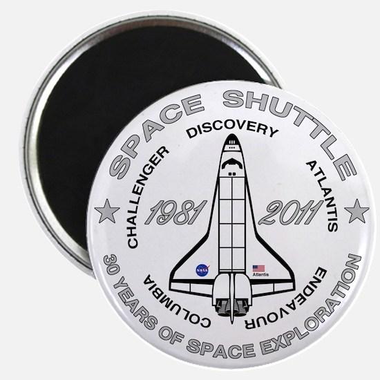 Space Shuttle_cafepress_2_dark Magnet