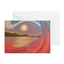rojogrande Greeting Card
