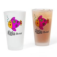 Alaska Baby copy (1) Drinking Glass
