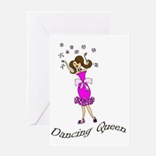 Dancing Queen copy Greeting Card