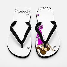 Dancing Queen copy Flip Flops