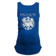 Deutsch German Eagle Vintage Maternity Tank Top