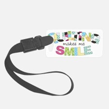 Quilting Smile Luggage Tag