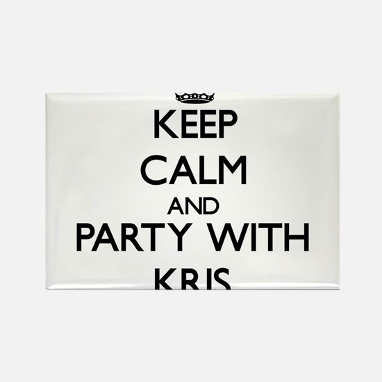 Keep Calm and Party with Kris Magnets