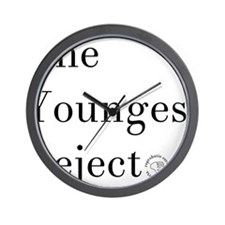 YoungestRejector Wall Clock