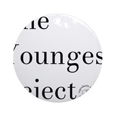 YoungestRejector Round Ornament