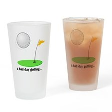 bad day golfing hi-res Drinking Glass