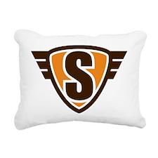 Serious_crest_1_300 Rectangular Canvas Pillow
