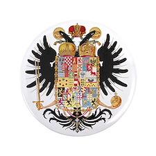 "German Coat of Arms Wappen Kaiser Jose 3.5"" Button"