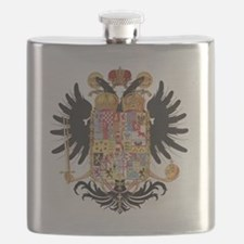 German Coat of Arms Wappen Kaiser Joseph II Flask