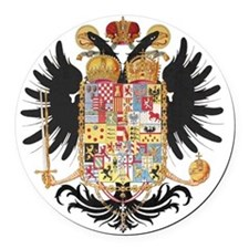 German Coat of Arms Wappen Kaiser Round Car Magnet