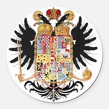 German Coat of Arms Wappen Kaiser Round Car Magnet