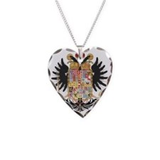 German Coat of Arms Wappen Ka Necklace Heart Charm