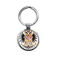 German Coat of Arms Wappen Kaiser J Round Keychain