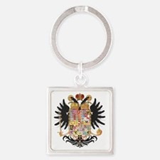 German Coat of Arms Wappen Kaiser  Square Keychain